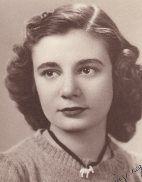 Joan at age 17 when she was keeping her diary.