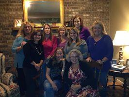 With Kathryn Sullivan Clarke, Lidia Wilimberg Minnella, Anne Marie DeVos, Maryann Weissensee Ford, Alison Dudiak, Susan S. Morrison and Carol Jacobsen Pruett.