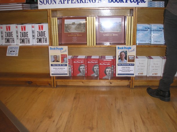 Book Display at BookPeople