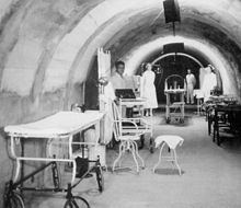Malinta Tunnel hospital ward (Armed Forces Institute of Pathology)