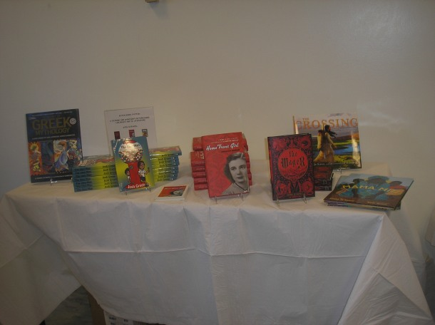 Book Display at Swarthmore Event