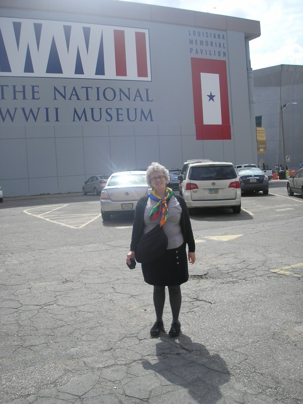 Susie at the National World War II Museum