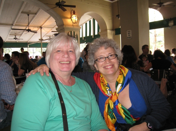 With Gerd at Cafe du Monde