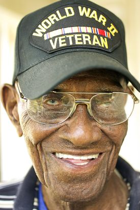 Richard Overton, aged 107