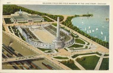 Postcard of Soldiers Field
