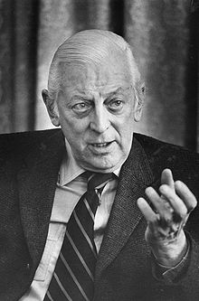 Alistair Cooke, the great broadcaster and reporter