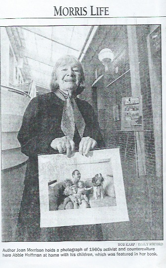 Joan at age 83 in an article by Lorraine Ash for Morristown Daily Record, April 20, 2006.