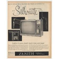 A Zenith tv like ours.