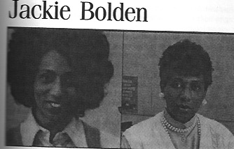 Jackie Bolden, one the the people interviewed for From Camelot to Kent State.