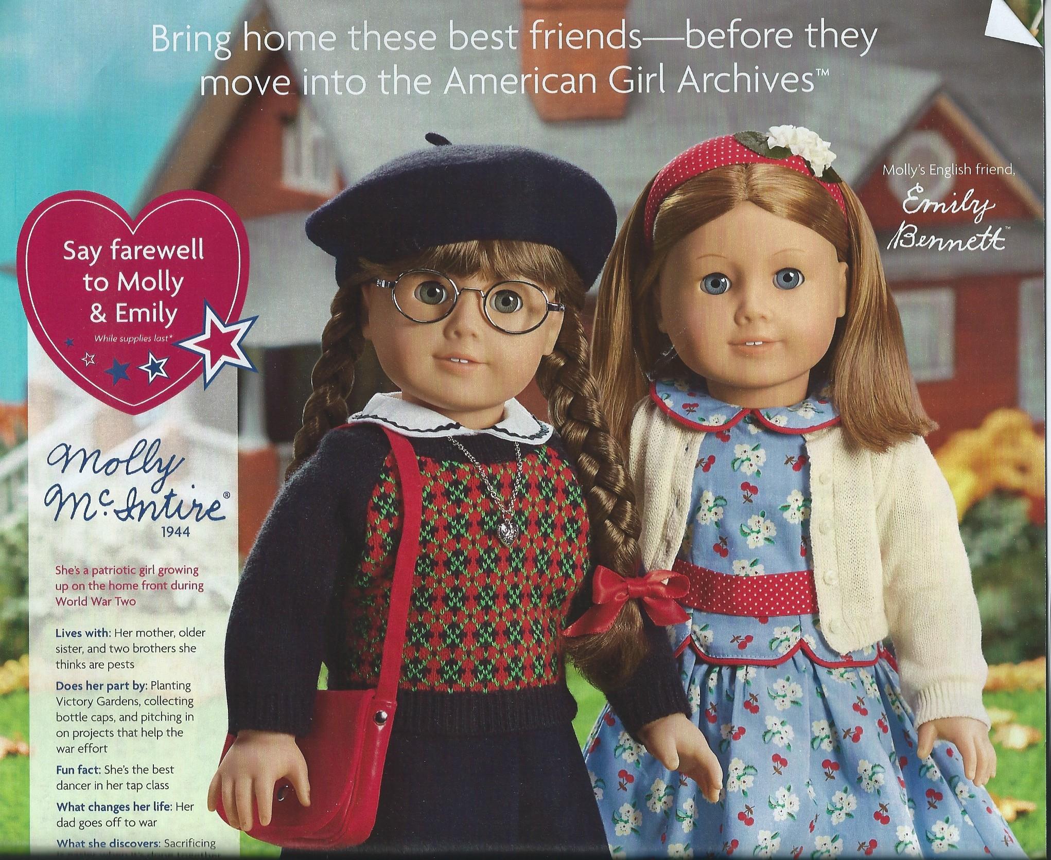 American Girl Molly & Emily Dolls   eBay