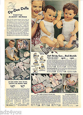 Dy-Dee Doll advertisement.