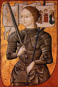 Joan of Arc, Joan's namesake and much beloved heroine
