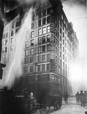 Triangle Shirtwaist Fire,  March 25, 1911
