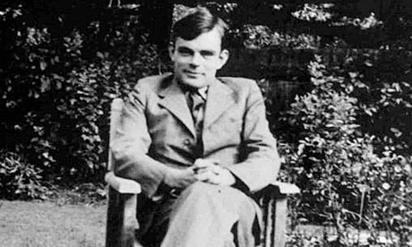 Alan Turing.  Read more about him in this article from The Guardian.