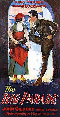 Poster for the film The Big Parade (1925)