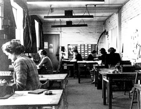 Cypher work during World War II.
