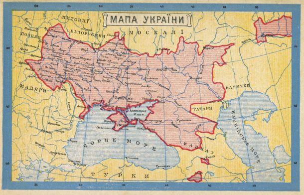 Ukraine in 1900.