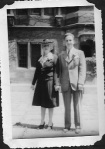 Glenna Anthony, my grandmother, with her son, Bob Morrison