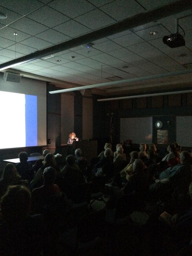 Giving my talk in Schaumburg.