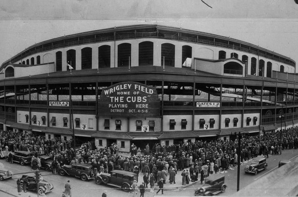 Wrigley Field in 1935